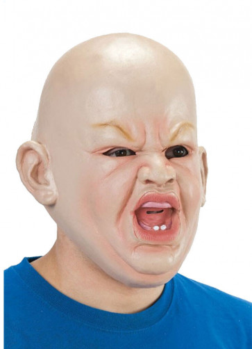 Angry Baby Rubber Mask