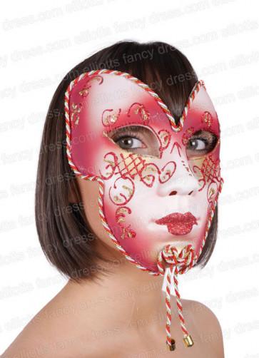 Aryana Full Face Mask (Red)
