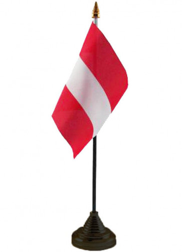 Austria Table Flag