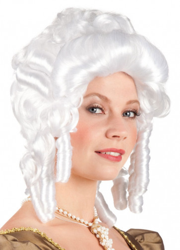 Baroque Ladies White Wig