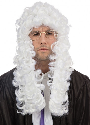 Judge Wig - White Basic