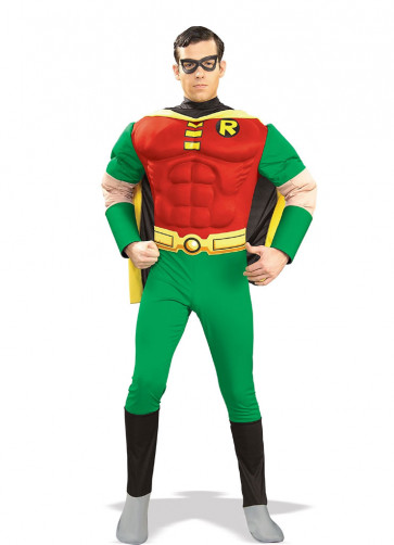 Robin Muscle Chest Deluxe - Costume - Batman and Robin