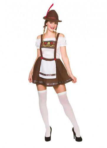 Bavarian Beer Maid - Brown