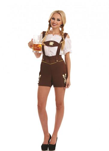 Bavarian Lederhosen Girl