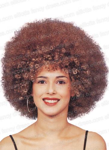 Beyonce Brown Afro Wig