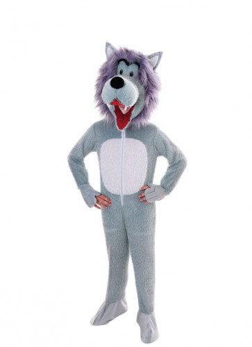 Wolf Big-Head Costume