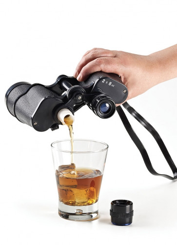 Binocular Drinks Flask