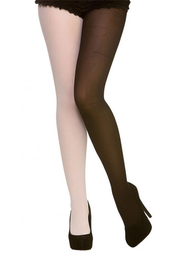 Black and White Tights - Dress Size 6-14