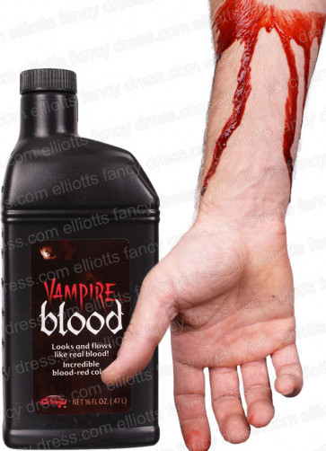 Vampire Blood (Pint Bottle .47L)- Makeup by Fun World