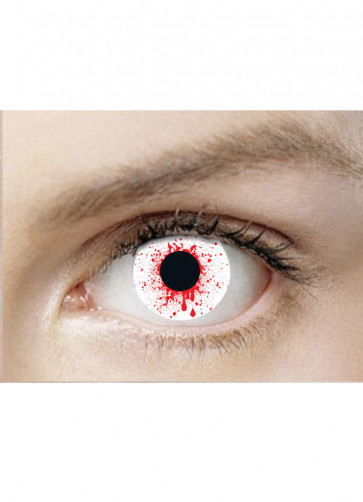 Blood Shot Drops Contact Lenses - 30 Day Wear