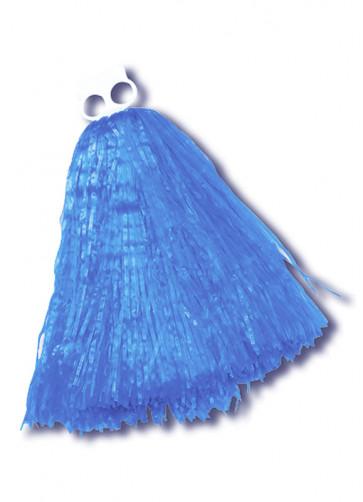 Small Blue Pom Pom - 1 Piece Only