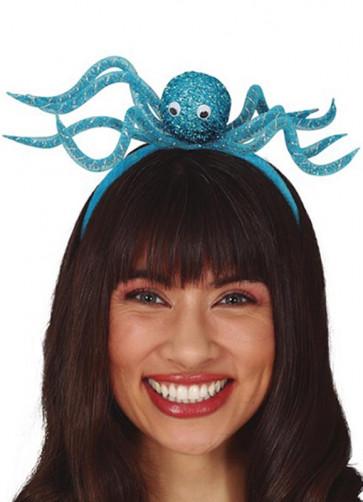 Blue Octopus Headband