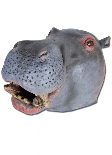 Hippo Rubber Mask