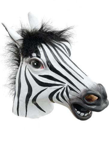 Zebra Rubber Mask