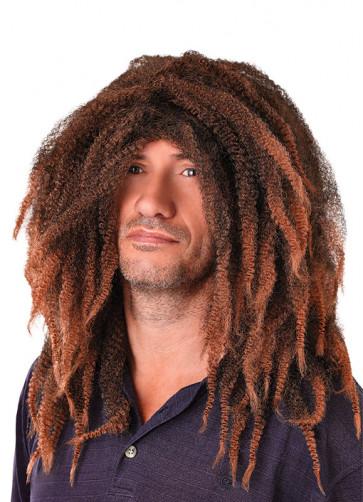 Bob Marley - Brown Dreadlocks Wig