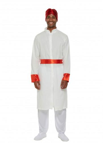 Bollywood Man (White) Costume