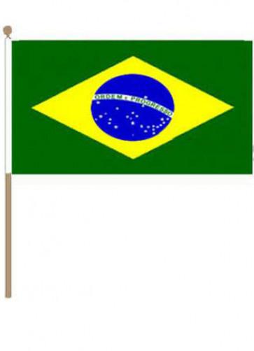 Brazil Hand Flag