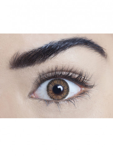 Brown Coloured Contact Lenses - 3 Month Wear