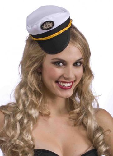 Sailor Captain Mini Hat
