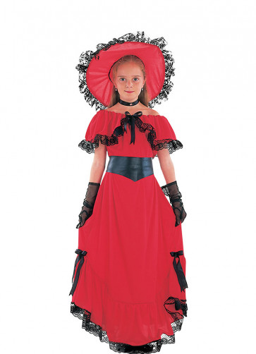 Scarlet (Girls) Costume