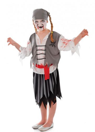 Pirate Zombie Girl