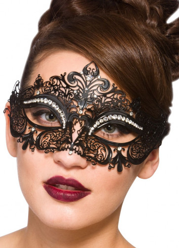 Cecilia Eye Mask With Diamantes