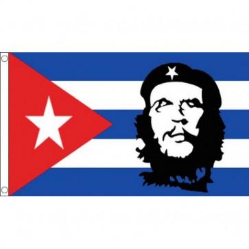 Cuba - Che Guevara Flag 5x3
