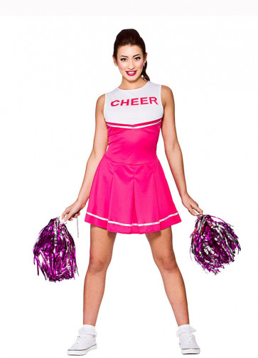 High School Cheerleader (Pink)