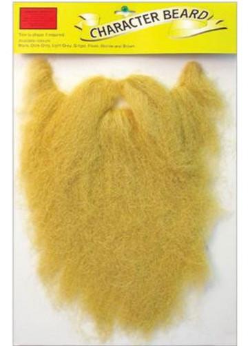 Long Beard And Moustache Blonde (Character Beard) **