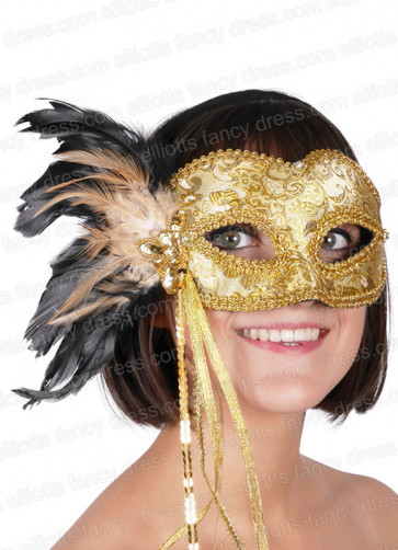 Chicquita Gold Eye Mask