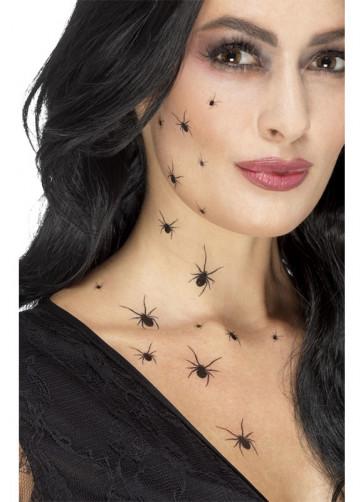 Crawling Spider Tattoo Transfers