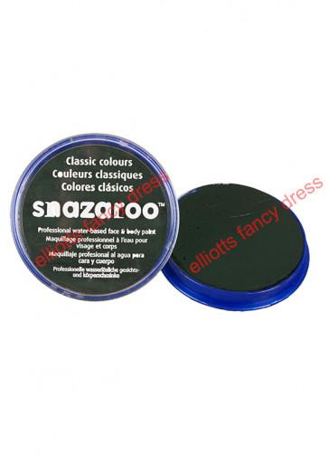 Snazaroo Dark Green Face Paint - Classic 18ml