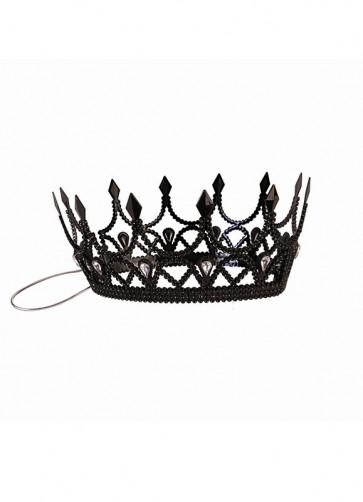 Dark Royalty Black Queen Crown
