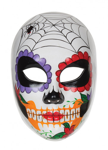 Day of the Dead Doll Eye Mask
