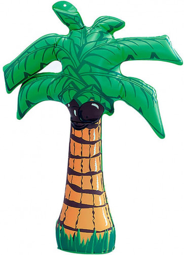 """Inflatable Palm Tree (18"""" tall)"""