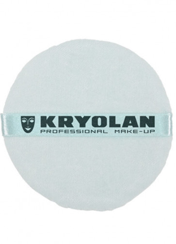 Kryolan Professional Powder Puff Blue (10cm)