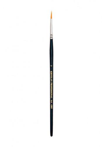 Kryolan Professional Torey Round Brush #3