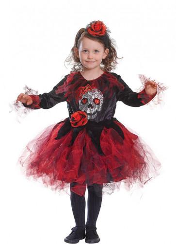 Skull Tutu Dress Costume