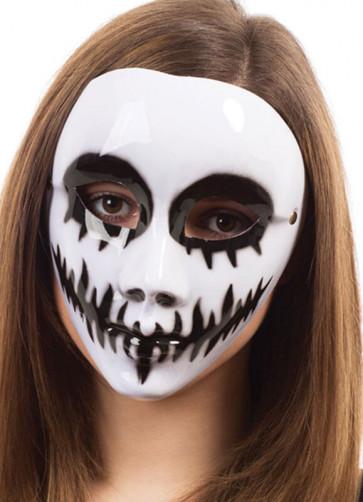 White Venom Plastic Mask