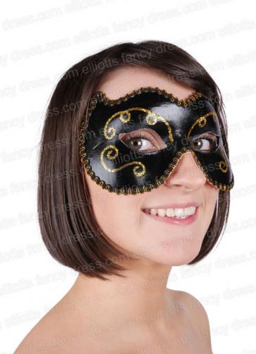 Emma Eye Mask Black