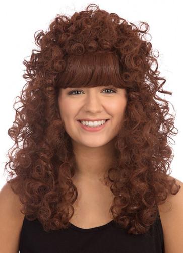 Esmeralda Auburn - Long Curly Wig
