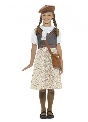Evacuee School Girl