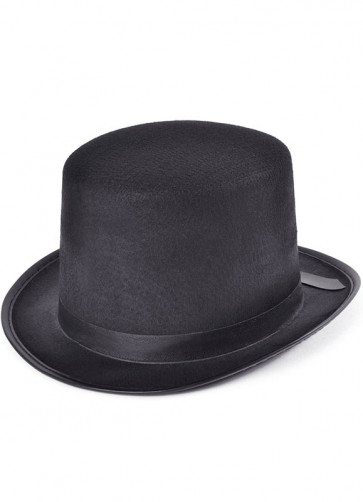 Black Top Hat Felt (factory)