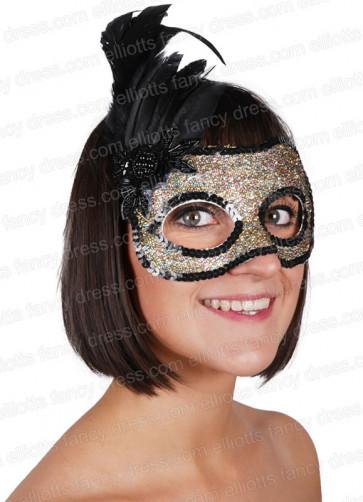 Fever Eye Mask (Gold & Black)