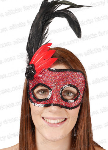 Fever Eye Mask (Red & Black)