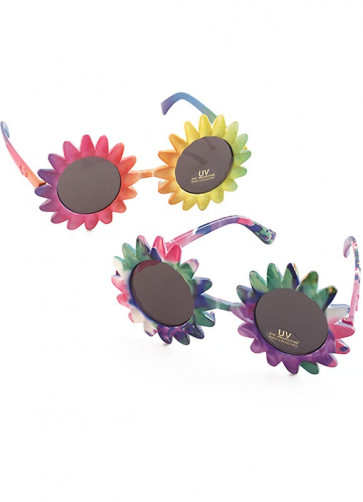 Hippy Flower Sunglasses