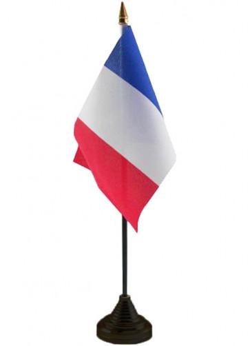 France Table Flag