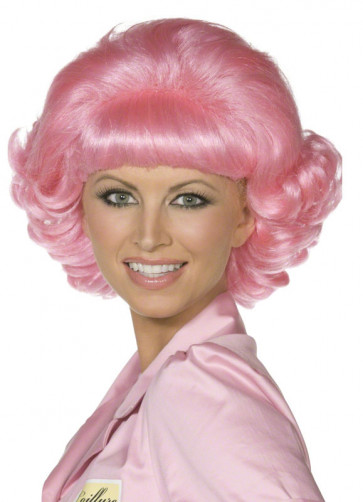 Grease Pink-Ladies Frenchy Wig
