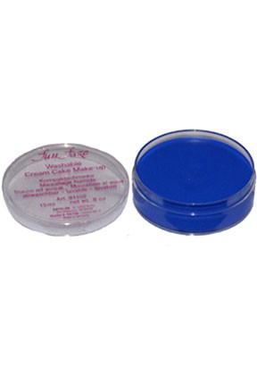 Kryolan Fun Faze Face Paint 15ml Blue Tub