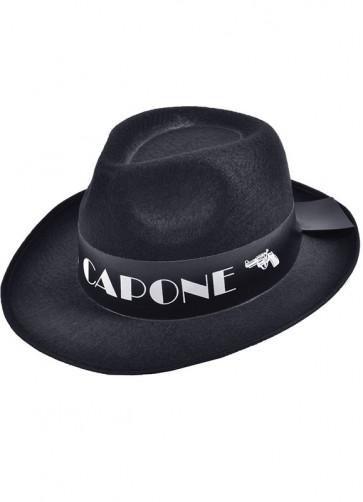 Gangster Hat Black Al Capone
